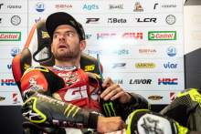 Crutchlow: Arm 'a disaster, litres of fluid, can see muscle'