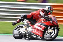 Point brake: 'Limit is really tight' for Petrucci