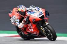 Miller, Dovizioso retain Ducati advantagein Styrian MotoGP FP1