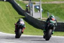 Morbidelli: Nothing but friendship for Zarco