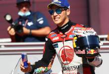 First front row for Nakagami, shoulders weight as Honda team leader