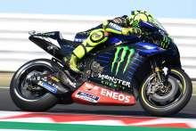 Home hero Rossi tops crash-filled San Marino MotoGP FP3