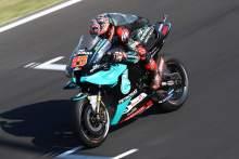 Quartararo leads Misano FP2 as Yamaha, KTM dominate top 10