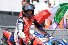 Bagnaia rides through the pain to secure maiden podium pleasure