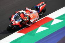 Bagnaia smashes Misano lap record but crash leaves him limping away