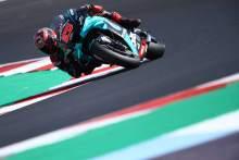 Fabio Quartararo , Emilia Romagna MotoGP. 18 September 2020