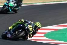 Valentino Rossi, Emilia Romagna MotoGP. 18 September 2020