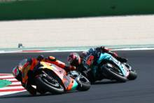 'I didn't get a warning' - Quartararo loses podium