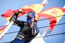 Maverick Vinales, Emilia Romagna MotoGP race. 20 September 2020