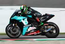 Franco Morbidelli, Johann Zarco drop it then top it in Catalunya MotoGP FP2