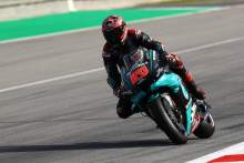 Fabio Quartararo tops Catalunya MotoGP warm-up despite crash