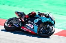 Quartararo kembali memegang kendali dengan memimpin kemenangan MotoGP Catalunya saat Dovi terjatuh