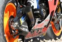 Alex Marquez, rides through the gravel, Catalunya MotoGP. 26 September 2020