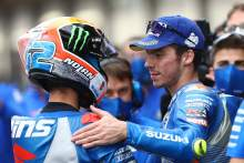 First podium of 2020 for Alex Rins, first Suzuki double podium for 13 years
