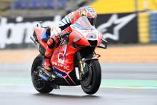 Jack Miller tops French MotoGP FP2 as tricky conditions persist