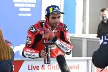 Danilo Petrucci, French MotoGP. 10 October 2020