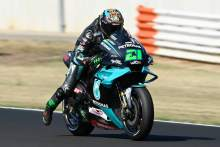 Morbidelli masters Misano for maiden win as Quartararo crashes out