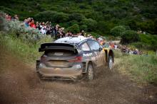 Rally Italia Sardegna - Classification after SS16