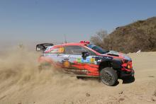 Mikkelsen leads Rally Mexico, Suninen crashes out