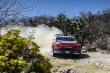 Rally Mexico - Classification after SS9