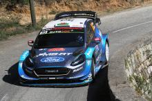 Evans suffers final stage tyre blow to hand Neuville Tour de Corse win
