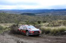 Neuville leads Tanak in fight for Rally Argentina win