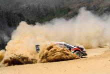 Tanak clings onto Rally Portugal lead in four-way fight