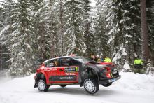 Breen keeps pace with Neuville at Rally Sweden
