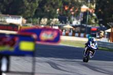 Toprak Razgatlioglu on his way to pole position, Estoril WorldSBK 2020