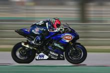 Mahias blitzes competition for pole position in Qatar