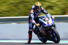 van der Mark expects to ride Donington, Mackenzie on standby