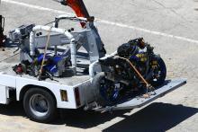 Baz's catapulting crash leaves Ten Kate facing substantial repair job