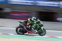 Injury holds Haslam back from podium charge