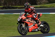 Redding sweeps practice timesheets at Phillip Island