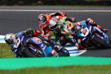 Razgatlioglu 'stressed', Yamaha 'sliding' to debut win