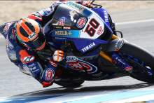 van der Mark to the front as Yamaha comes to fore