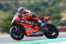 Davies heads up Rinaldi in WorldSBK FP1 at Aragon