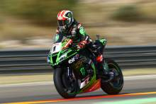 Rea leads Kawasaki 1-2 in FP2, Davies fastest overall