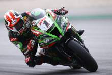 Rea slides to top of timesheets in damp WorldSBK Catalunya FP2