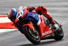Leon Haslam, French WSBK race2, 2020