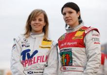 Inside Racing: DTM's ladies, and flat-out...in reverse!