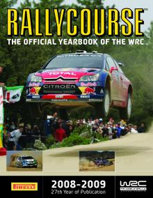 Rallycourse becomes official WRC yearbook.