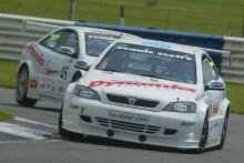Mark Blundell looks towards Magny Cours