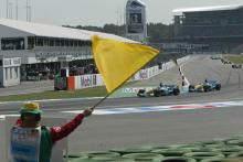 Marshal honoured after tackling Brit GP invader.