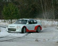 Kresta prepares for Monte Carlo in Hyundai Accent.