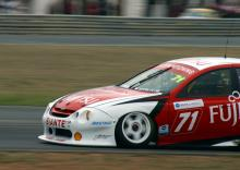 Two race wins and a podium for Fujitsu's Kelly.