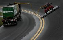 New track drying technology to slash rain delays
