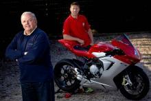 Gary Johnson in MV Agusta TT return