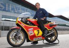 Barry Sheene tribute at Silverstone MotoGP