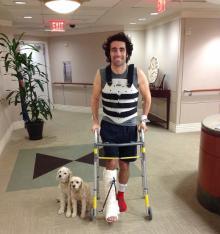 Franchitti leaves hospital